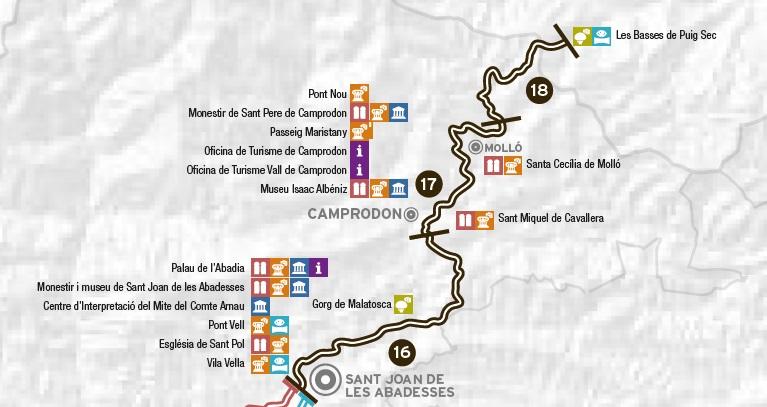 mapa Sant Joan - Basses Puigsec